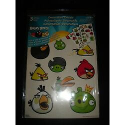 Decorative Decals ANGRY BIRDS 36 Wall Stickers - Quick & Easy Removable Reusable