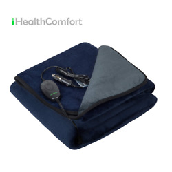 Kyпить iHealthComfort Electric Heated Car Blanket with Intelligent Temp Time Control  на еВаy.соm
