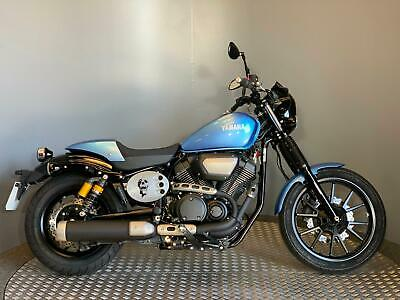 Yamaha XVS 950 Racer 2018 68 Plate with only 603 miles