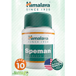 10 box 600 TABLETS Himalaya Speman OFFICIALLY WITH DOCUMENTS EXP 2023 USA STORE