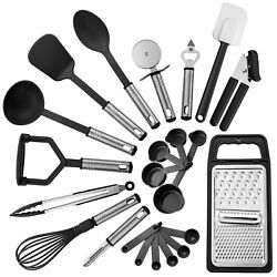 Kyпить 23 Piece Kitchen Utensils Set Nylon Utensils Stainless Steel Cooking Utensil Set на еВаy.соm