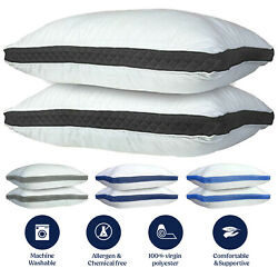 Kyпить 2 Pack Pillows Luxury Ultra Soft Gusseted Bed Pillows for Side and Back Sleepers на еВаy.соm