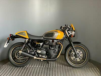 Triumph Street Cup Cafe Racer 2017 with 11,234 miles Very Good Condition