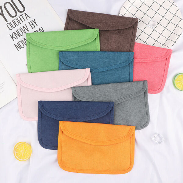 Portable Dustproof Cosmetic Bag Makeup Purse Cosmetic Storage Bags Case HoldKTP