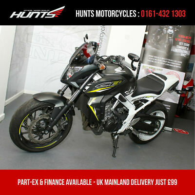 2016, '16 reg. Honda CB650F ABS. One Owner. ONLY 2,237 MILES. Seat Cowl. £4,895