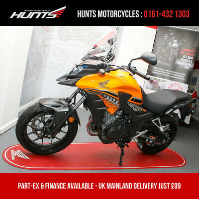 2018 '18 Honda CB500X ABS. 1 Owner. ONLY 2,623 MILES FROM NEW. £4,195