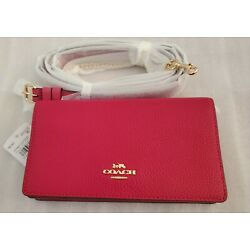 COACH COLORBLOCK (Bright Cherry) 72160 CROSS-BODY/BELTBAG NWT, MAKE AGREAT GIFT