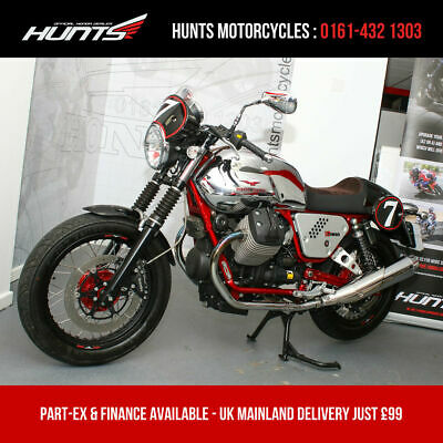 2014 '64 Moto Guzzi V7 Racer Limited Edition. ONLY 2,352 MILES. Stunning. £5,995
