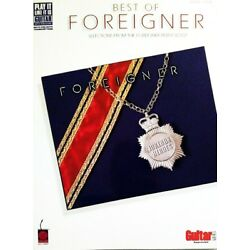 Kyпить FOREIGNER GUITAR TABLATURE  / ***BRAND NEW*** / FOREIGNER GUITAR TAB SONGBOOK на еВаy.соm