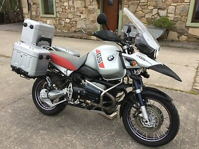 2002 BMW R1150 GS ADVENTURE GENUINE 62k FACTORY ALLOY LUGGAGE - EXCELLENT