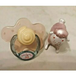 ZAPF  Baby Annabel Replacement Pacifier And Toy 1 PACIFIER & 1 Sheep. No Doll