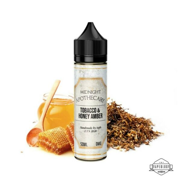 Voisins le Bretonneux,France Tobacco & honey amber Midnight Apothecary 50ml - Sans Nicotine