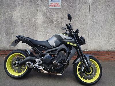 2019 YAMAHA MT09 WITH UNDER 2100 MILES FOR 7495