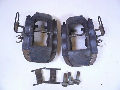04-10 VOLKSWAGEN TOUAREG RIGHT LEFT REAR SET OF 2 BREMBO BRAKE CALIPERS 17Z