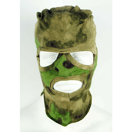 img-Russian Military Special Forces Army 3 Hole Face Mask Balaclava Moch (Moss) Camo