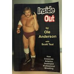 RARE BOOK: Ole Anderson, Inside Out