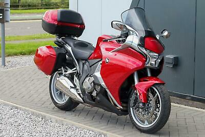 2012 HONDA VFR1200F DCT in RED