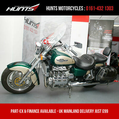 Stunning 2001 Honda F6C GL1500 Valkyrie. Only 7705 Miles. Panniers. £7,995
