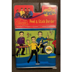 The Wiggles Peel & Stick Wall Border Removable & Repositionable  New In Package