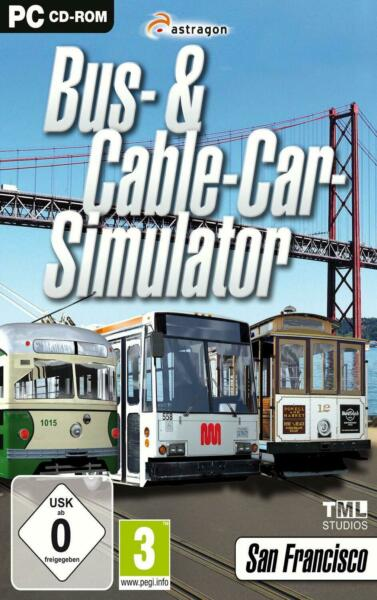 AllemagneBus & Cable Car Simulator [video game]