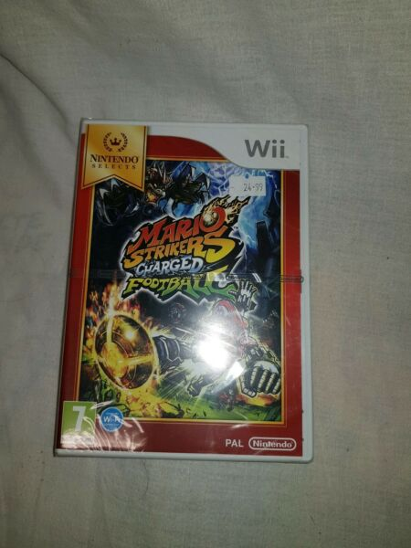 Beaumont sur Grosne,FranceMario Strikers Charged Football sur WII - Neuf blister  - Version FR