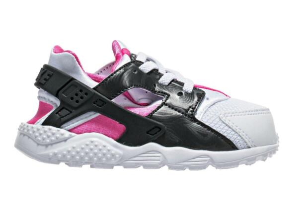 Royaume-UniFilles Enfants Nike Huarache Run Td  Blanc 704952 104