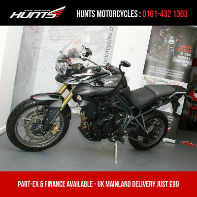 2012 '61 Triumph Tiger 800. Heated Grips, Scorpion Exhaust Can. £4,495
