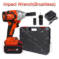 Kyпить Cordless Electric Impact Wrench Gun 1/2'' Driver 800Nm/Li-ion Battery High Power на еВаy.соm