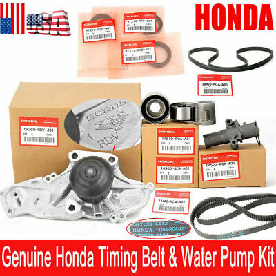 9pcs Timing Belt&Water Pump Kit Fit For Accord Odyssey Acura MDX V6 High Quality