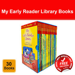 My Early Reader Library First Steps to Independent Reading 30 Books Box Set Pack