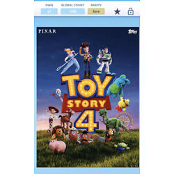 Kyпить Topps Disney Collect - Toy Story Posters - Complete w/Award *Digital* на еВаy.соm