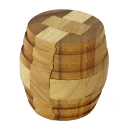 Kyпить Wine Barrel interlocking burr puzzle на еВаy.соm