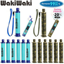 Kyпить 6 Pack Portable Survival Water Filter Straw Purifier Camping Emergency Gear Tool на еВаy.соm