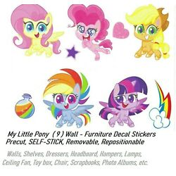My Little Pony Wall Furniture Decal Stickers Vinyl Wall Bedroom Decals Sticker