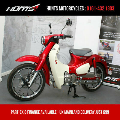 2019 '19 Honda C125 Super Cub. 1 MILE FROM NEW. Warranty. £2,995 On The Road