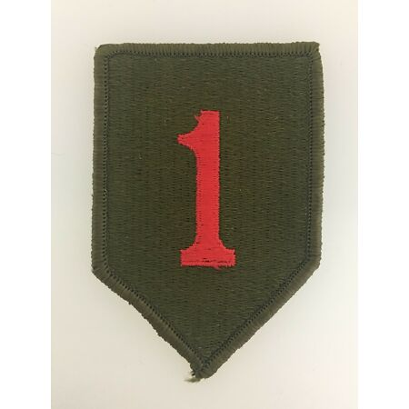 img-GENUINE America American U.S. Army 1st Infantry Division sleeve patch insignia