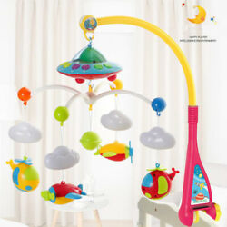 Kyпить Baby Musical Bed Bell Kid Crib Musical Mobile Cot Music Box Gift Rattle Toy New на еВаy.соm