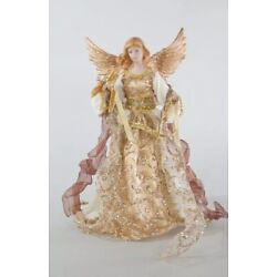 Katherine's Collection Thread Of Gold Angel Tree Topper 18-841688 NEW