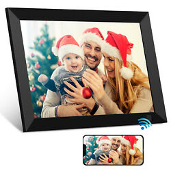Kyпить WiFi Digital Photo Frame HD IPS Touch Screen Share Picture Video Instantly 16GB на еВаy.соm