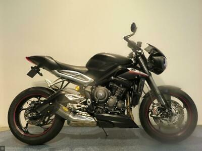 2019 TRIUMPH STREET TRIPLE RS 765 MILEAGE 2751