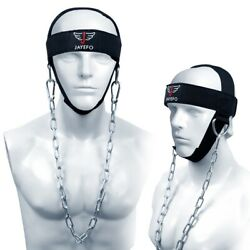 PRO FITNESS WEIGHT LIFTING HEAD HARNESS NECK STRENGTH PADDED BLASTER GYM WORKOUT