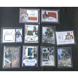 Kyпить Lot Of 50 NFL Football Rookie Cards. Plus An Addition Auto Or Game Used Jersey на еВаy.соm