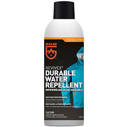 GEAR AID Revivex Durable Water Repellent Spray for Reproofing Jackets, 10.5 oz