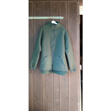 img-Nl Army Fleece Jacket Underjacket Teddylining Winter Jacket Olive Used