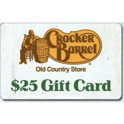 Kyпить $50 Cracker Barrel Gift Card! 51% OFF! Fast Physical/Mailed Delivery. 2x25$ на еВаy.соm