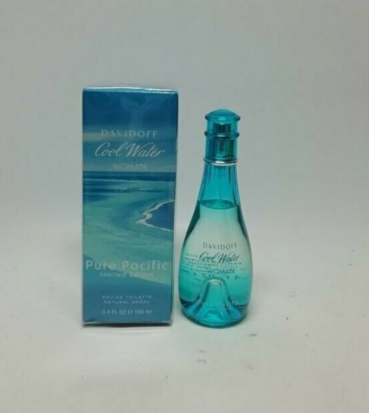 EspagneDavidoff Cool D'Eau Pure Pacific EDT For Woman 100 ML  Neuf & Rare