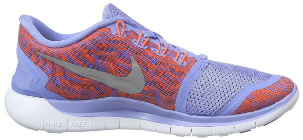 Royaume-UniFemmes Nike  5.0 Imprimé Course Baskets 749593 408