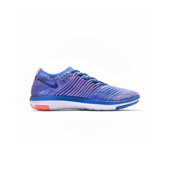 Royaume-UniFemmes Nike  Transform Flyknit Bleu Moyen Course Baskets 833410404