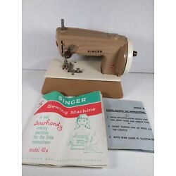 Kyпить VINTAGE SINGER 40X SEWHANDY CHILD'S TOY SEWING MACHINE GREAT BRITAIN Works на еВаy.соm