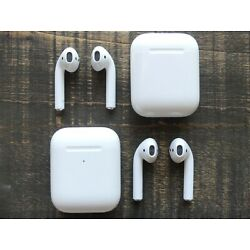 Kyпить Apple AirPods 2nd Generation - Left, Right or Charging Case Box Replacement Only на еВаy.соm